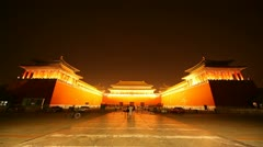 Forbidden City. Beijing. China - stock footage