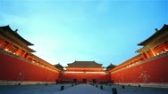 Stock Video Footage of Forbidden City. Beijing. China