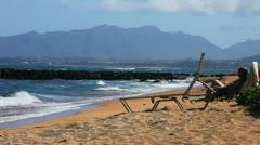 Tropical Beach 12 Stock Footage