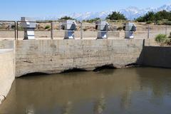 Aqueduct intake Stock Photos