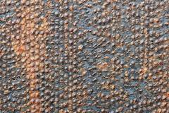 Bumpy rusty metal Stock Photos