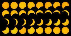 Auringonpimennys ja tausta 3.29.06. Piirros