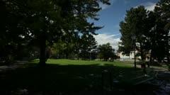 Stock Video Footage of Geneva - park fountain