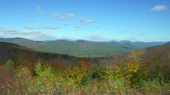 Lehtien New Hampshire White Mountains Arkistovideo