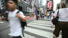 Times Square 46 Stock Footage