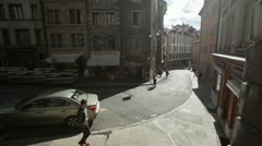 Geneva - street Stock Footage