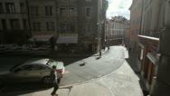 Stock Video Footage of Geneva - street