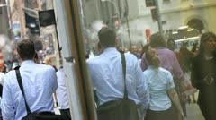City Window Stock Footage