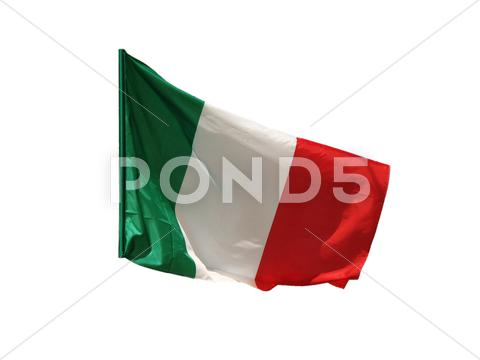 Stock photo of Italian flag