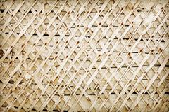 wooden wall deprived of plaster - backdrop - stock photo