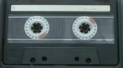 Audio cassette music Stock Footage
