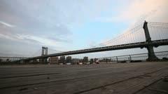 Bridge Boardwalk Stock Footage