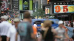 Times Square 54 Stock Footage