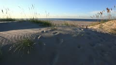 Inviting beach Stock Footage