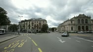 Stock Video Footage of Place Neuve, Geneva, Switzerland