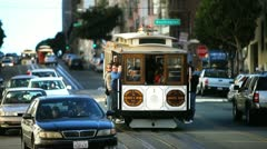 san fran trolley 2 - stock footage