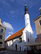 Church of the Holy Spirit in Tallinn - stock photo