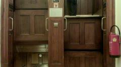 Paternoster elevator Stock Footage