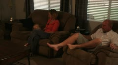 Family Time 1 Stock Footage