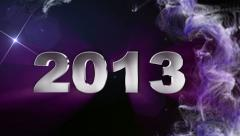 2013 text BLUE 2 1280x720 Stock Footage