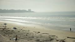 ocean front - stock footage