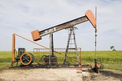 Stock Photo of oil pump