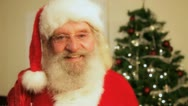 Stock Video Footage of santa smile 4