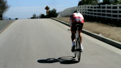 Cycling race (28) Stock Footage