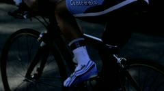 Cycling race (7) Stock Footage