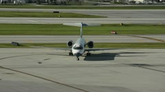 Air Tran Boeing 717 passenger jet Stock Footage