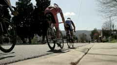 Cycling race (12) Stock Footage