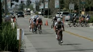 Stock Video Footage of cycling race (2)