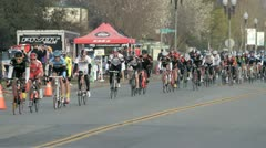 Cycling race (8) Stock Footage