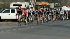 Cycling race (17) Stock Footage