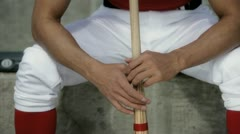 Frustrated Batter Stock Footage