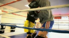 Sparring 6 Stock Footage