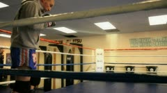 Sparring 1 Stock Footage