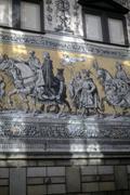 Parade of kings, mounted knights on horseback, .. Stock Photos
