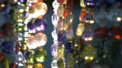 Dazzling Shiny Jewels Sparkle In Sunlight-bokeh Stock Footage
