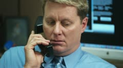 Cubicle Call 5 Stock Footage