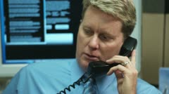 Cubicle Call 4 Stock Footage