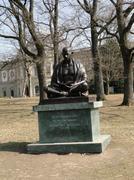 Statue of mahatma ghandi Stock Photos