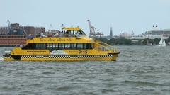 Water Taxi 1 - stock footage
