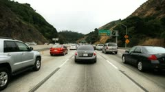 Slow traffic Stock Footage