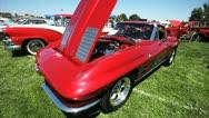 Vintage Corvette 1 Stock Footage