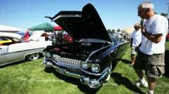Vintage Caddy - stock footage