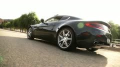 Aston Martin 21 Stock Footage