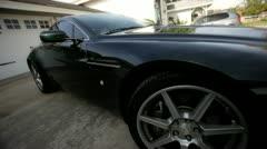 Aston Martin 6 - stock footage