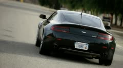 Aston Martin 5 Stock Footage