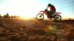 Dirtbikes Stock Footage